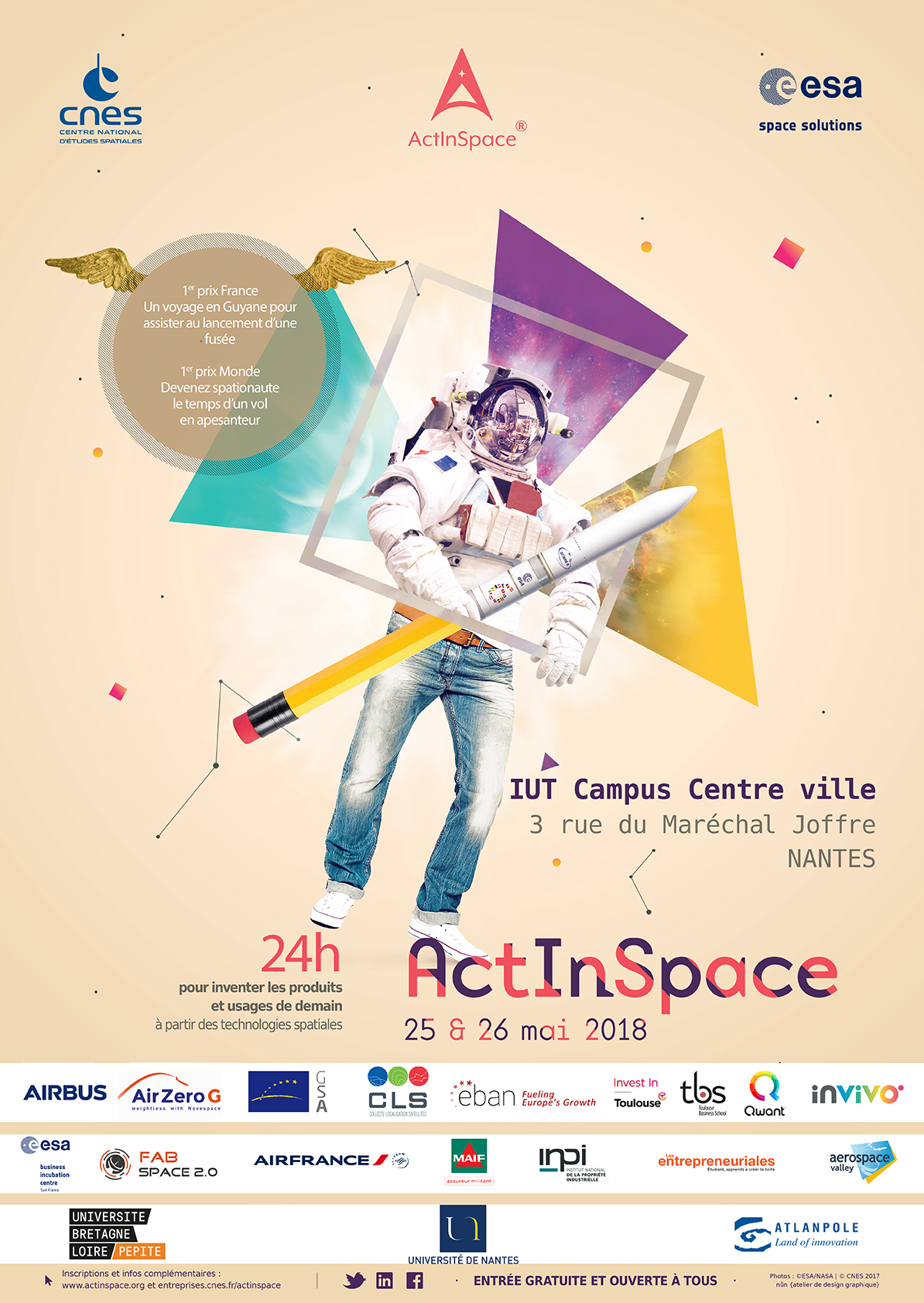 Act in Space - Nantes