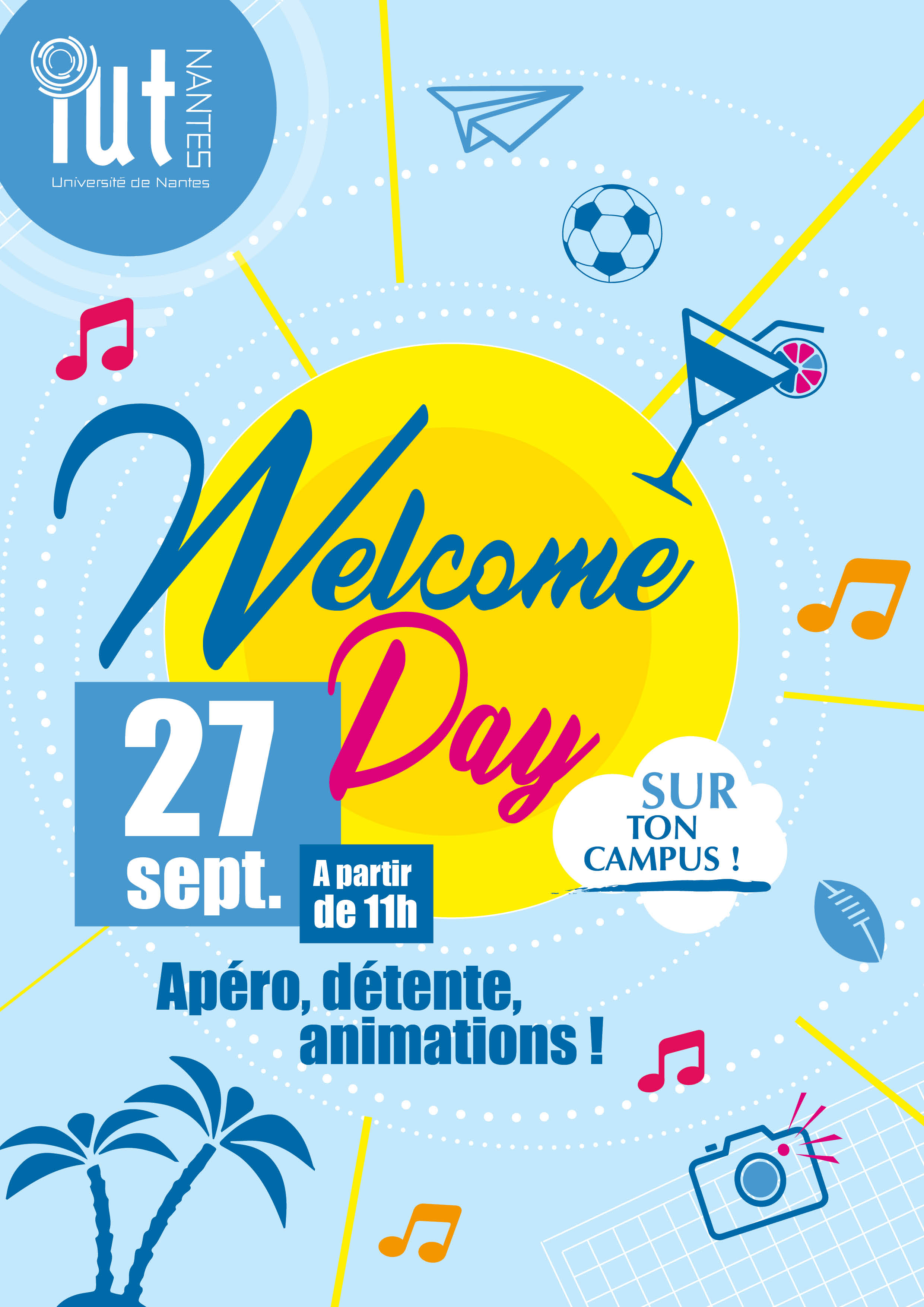 Affiche Welcome Day 2018